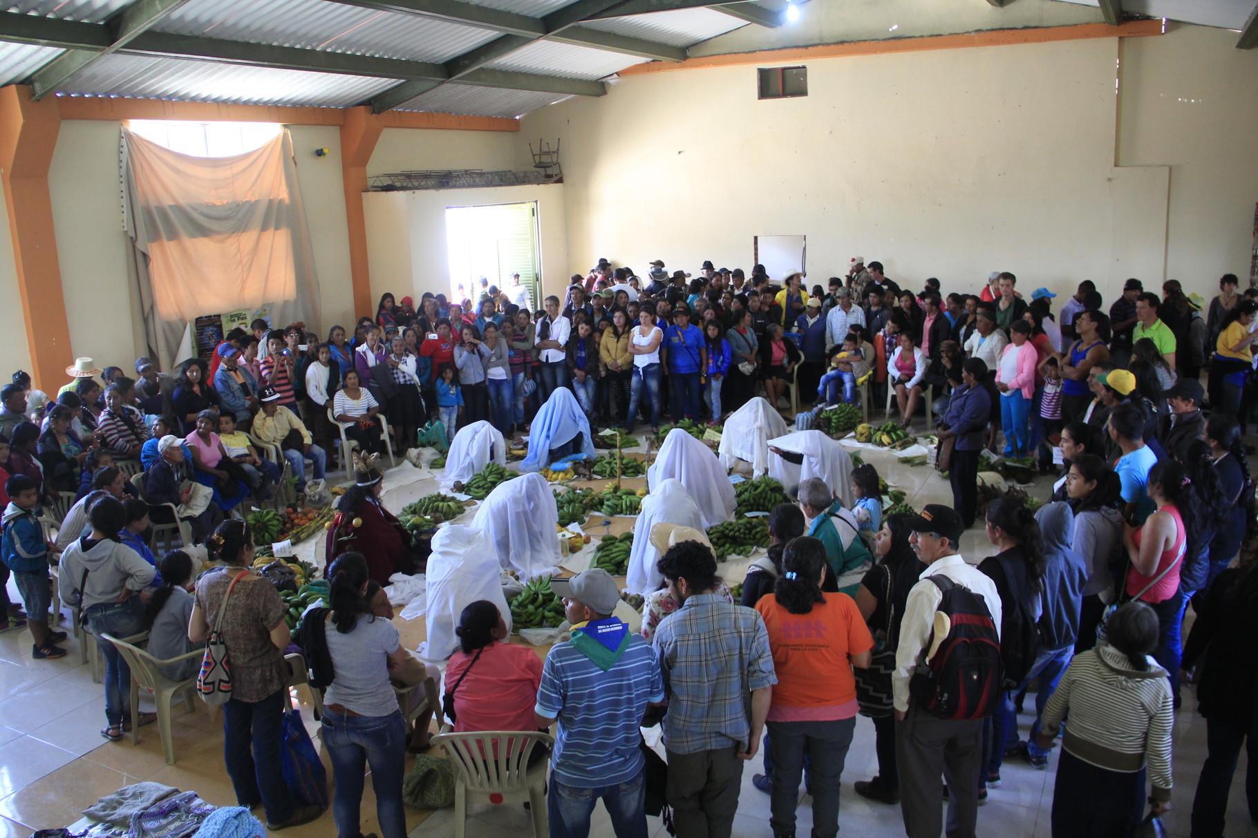 X Encuentro de la RGSV. Santa Cruz. Resguardo de Guachavez. Noviembre/2015