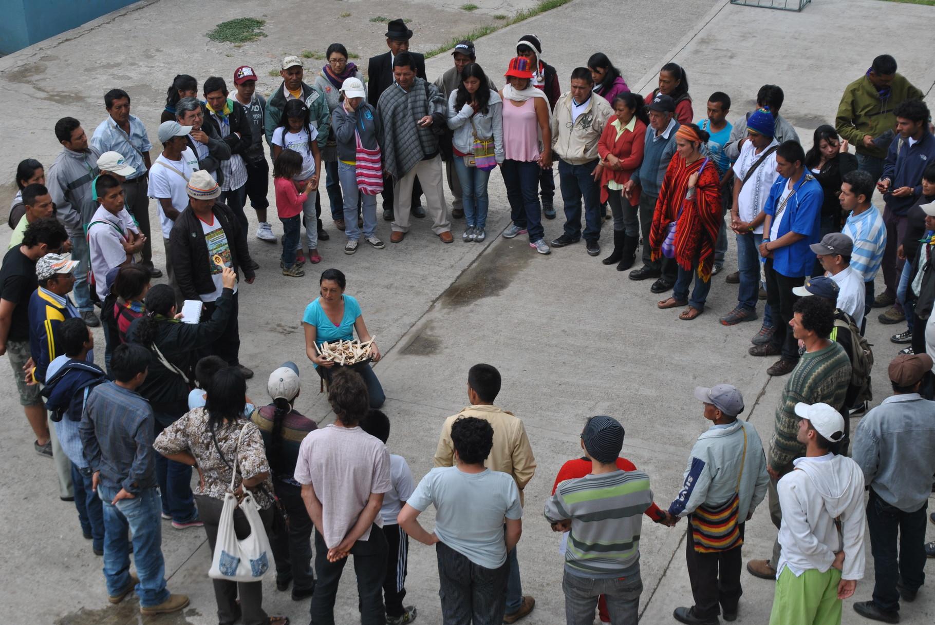 VIII Encuentro de Guardianes de Semllas en La Unión - Nariño. Sep/2013