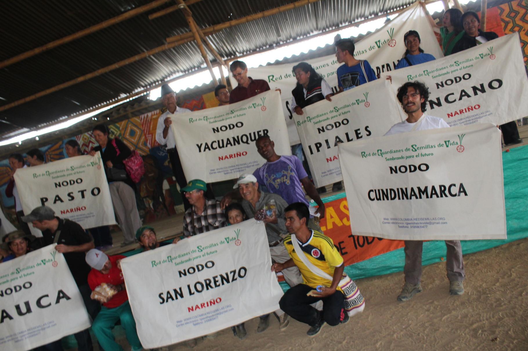 IX Encuentro de Guardianes de Semillas en Piendamó - Cauca. Sep/2014
