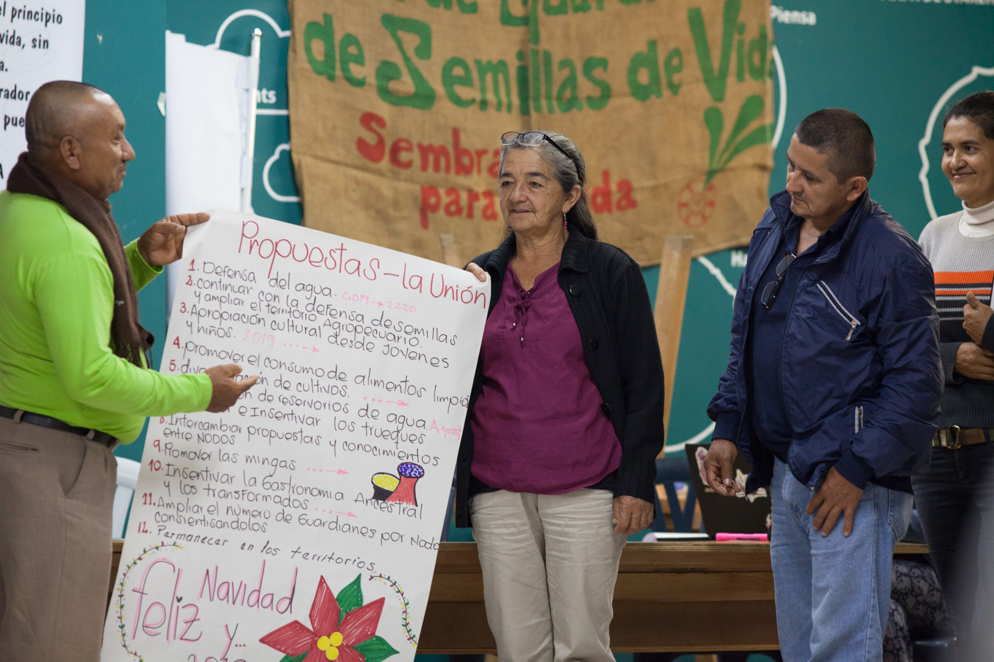 XIII Encuentro de la RGSV. Pasto-Nariño. Dic/2018
