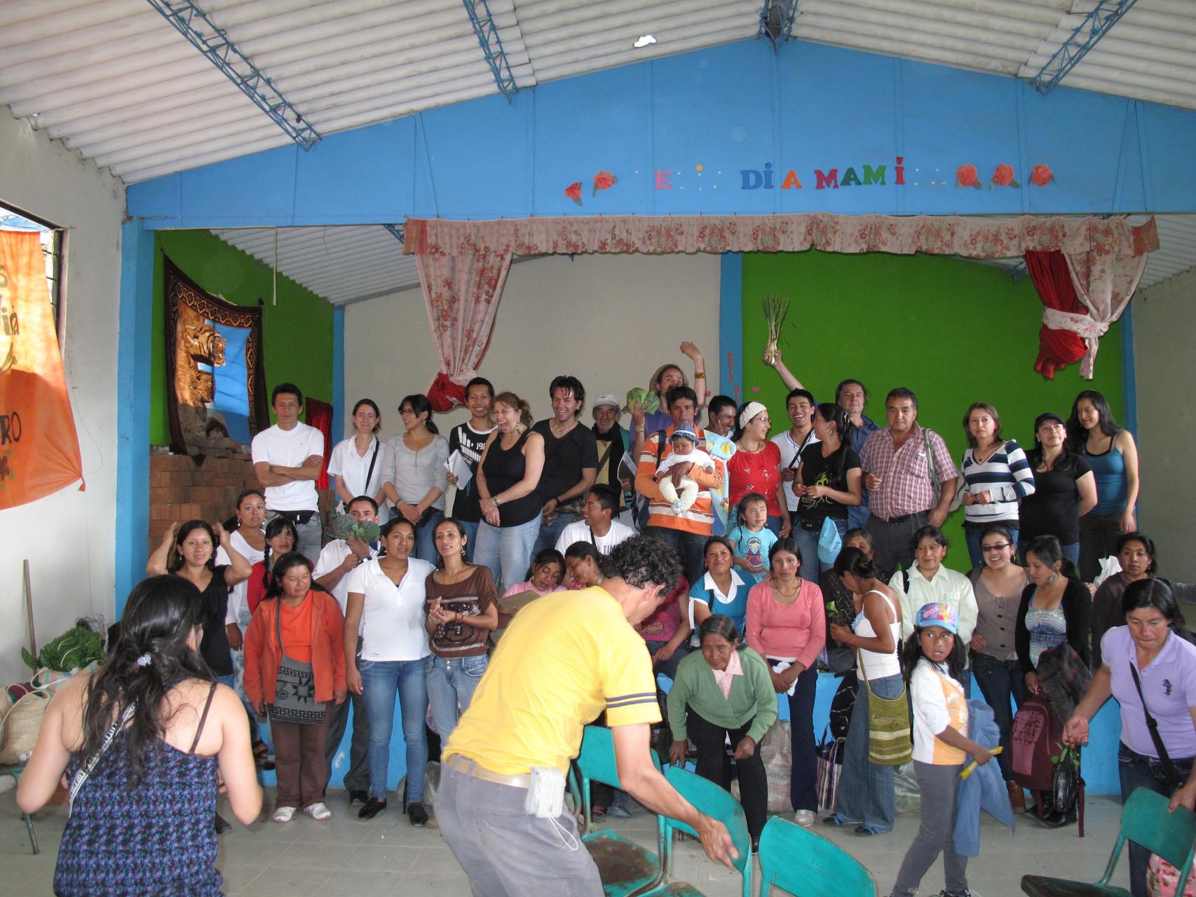 VII Encuentro de Guardianes de Semillas en Consacá - Nariño. Sep/2012
