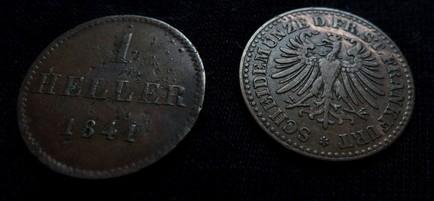 Zwei Heller aus Frankfurt