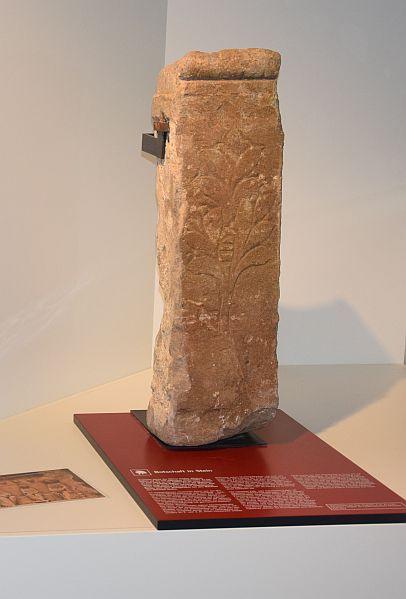 Matronenstein aus Tiberiacum, dem heutigen Thorr