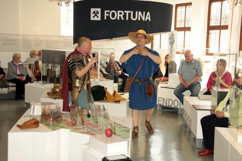 ein römischer Bauer