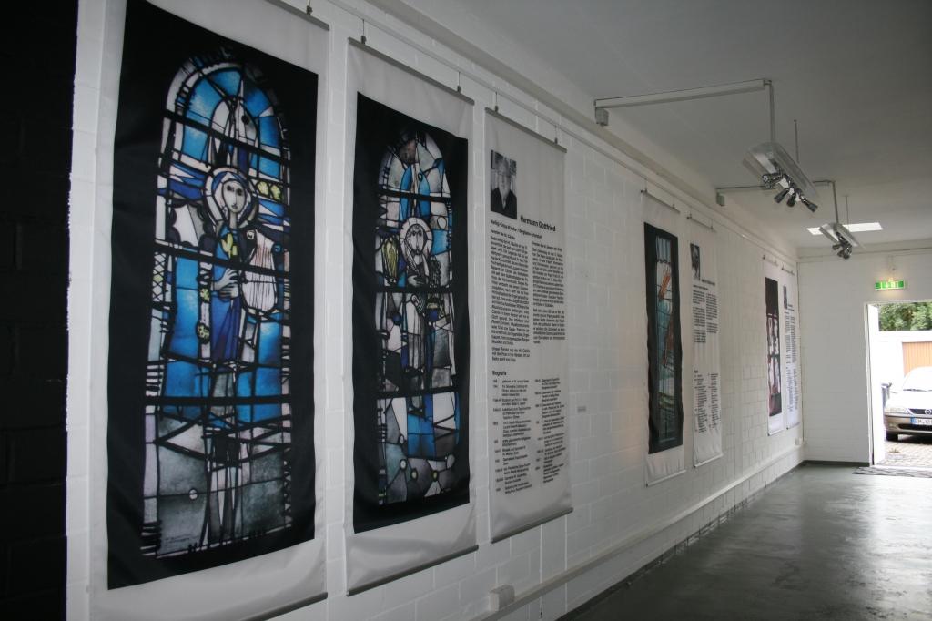 Kirchenfenster in Bergheim - Hans Lünenborg - Heinrich Klein-Arendt - Hermann Gottfried