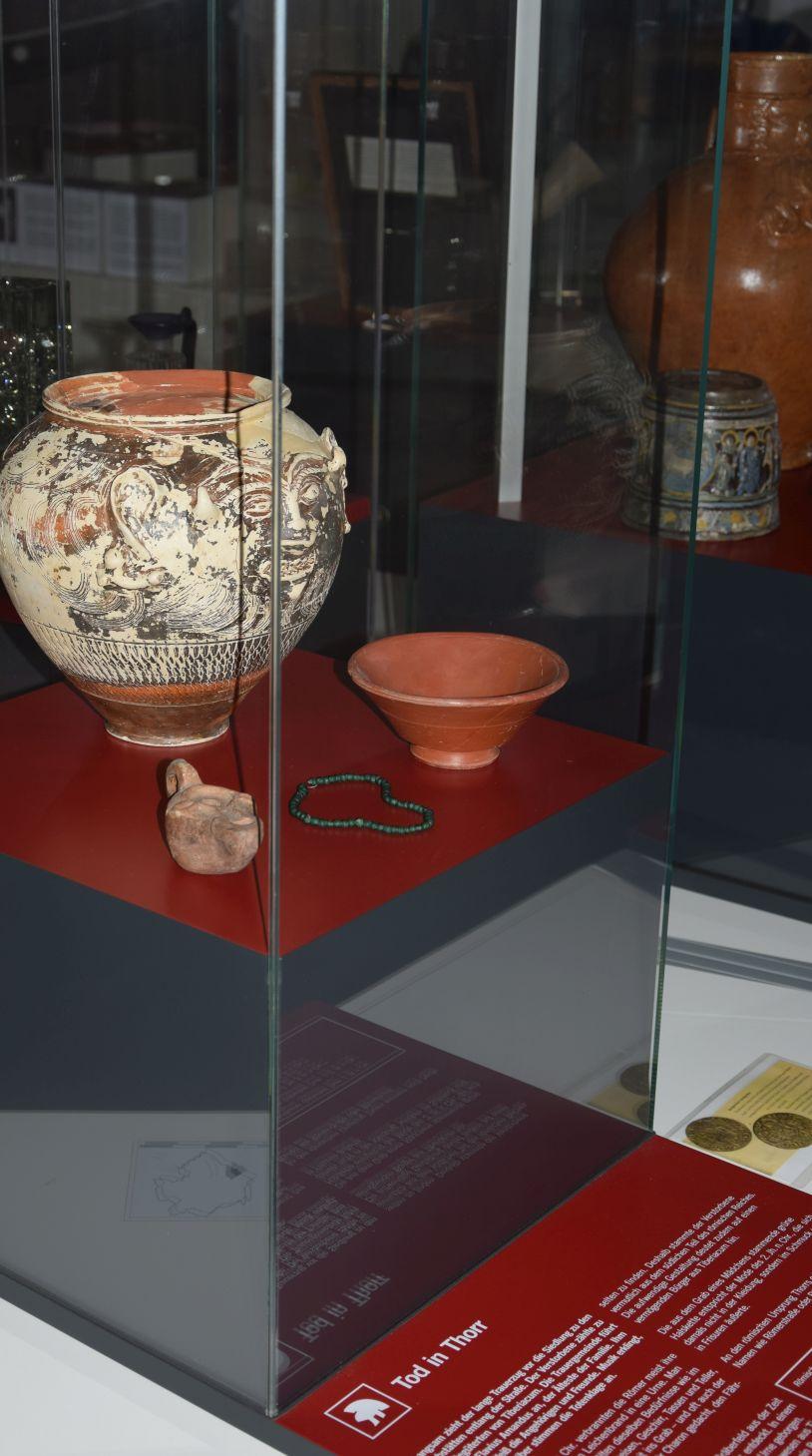 Gesichtsurne aus der Römerzeit - sie ist ein Alleinstellungsmerkmal