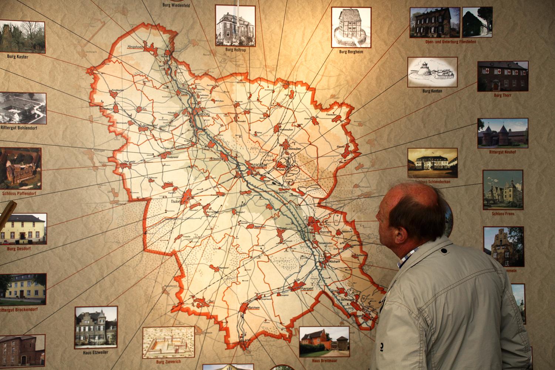 Karte des Altkreises
