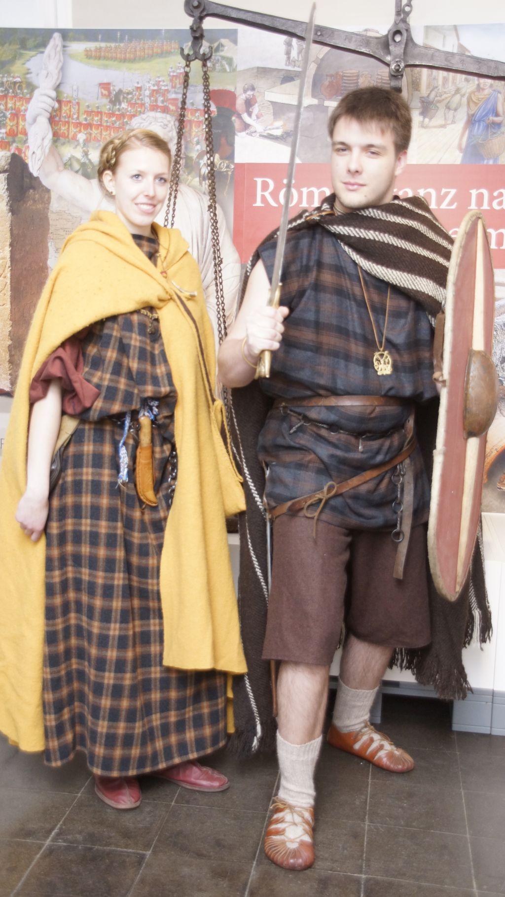 Zwei Kelten in der BERGHEIMAT
