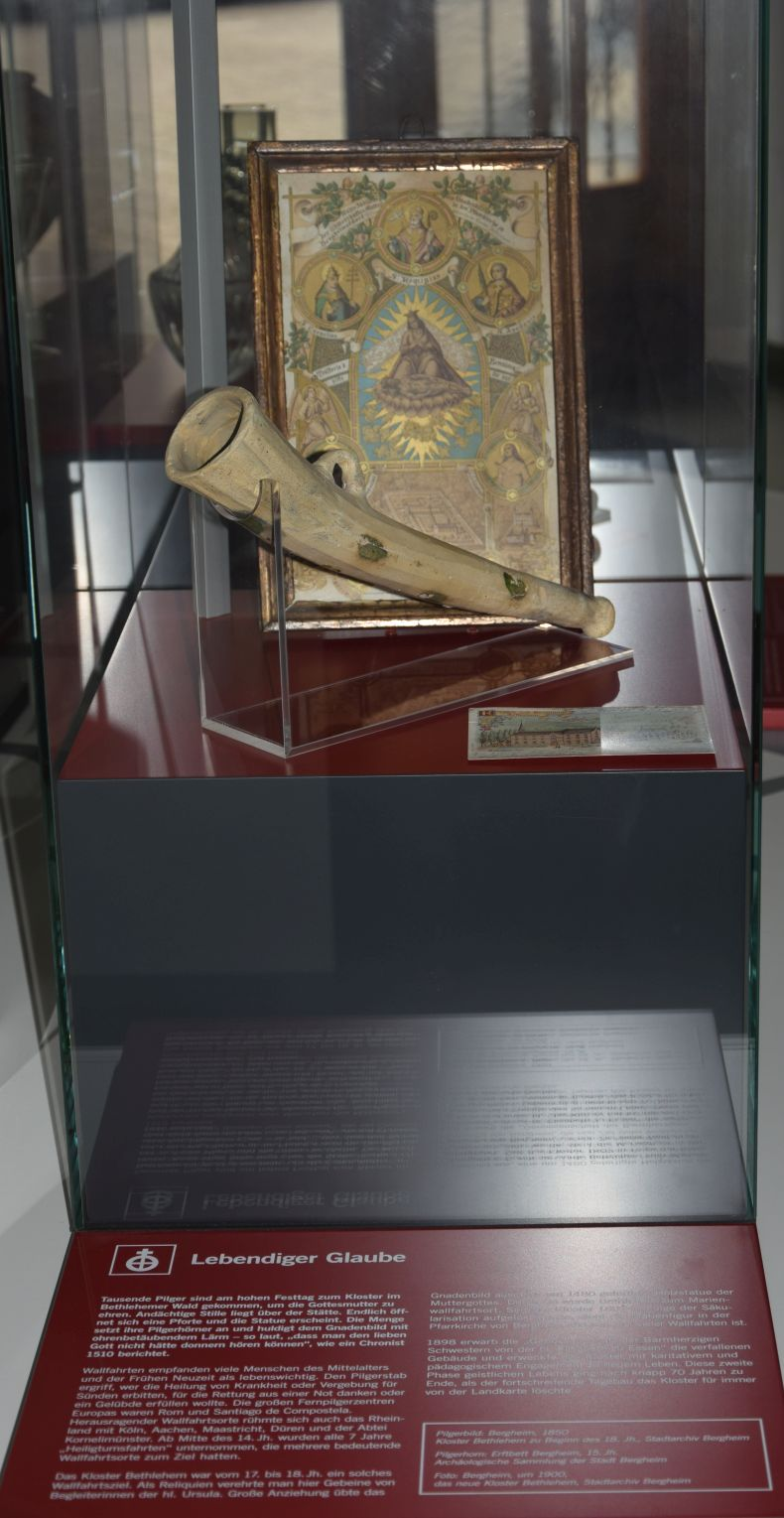 Exponate aus dem Kloster Bethlehem