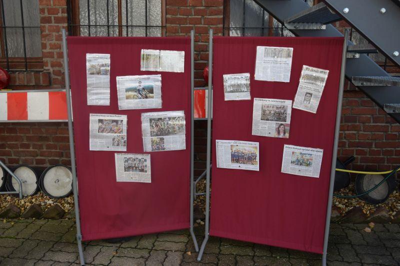 Zeitungsausschnitte von der Staubwoke aus Quadrath-Ichendorf