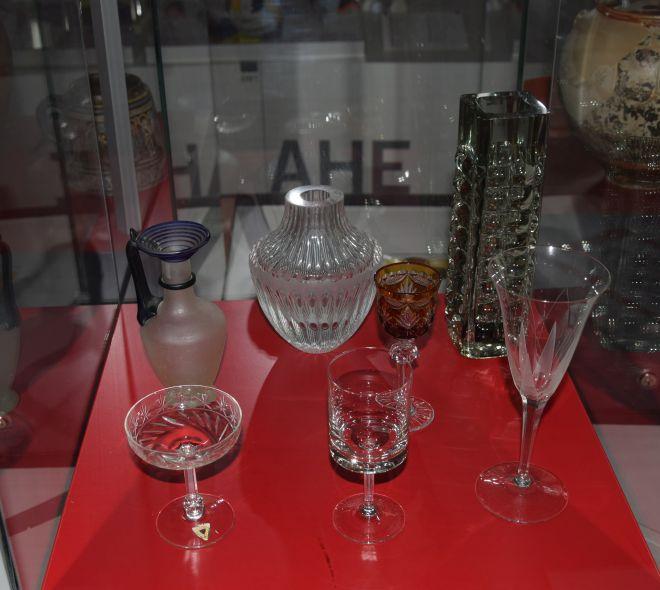 Exponate aus der Ichendorfer Glashütte