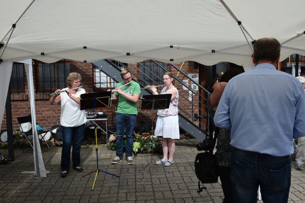 Die Flötengruppe von Martina Demontis