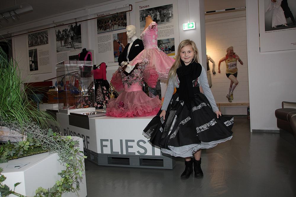 Eva im Petticoat - dies hatte sie sich Wochen vorher gewünscht