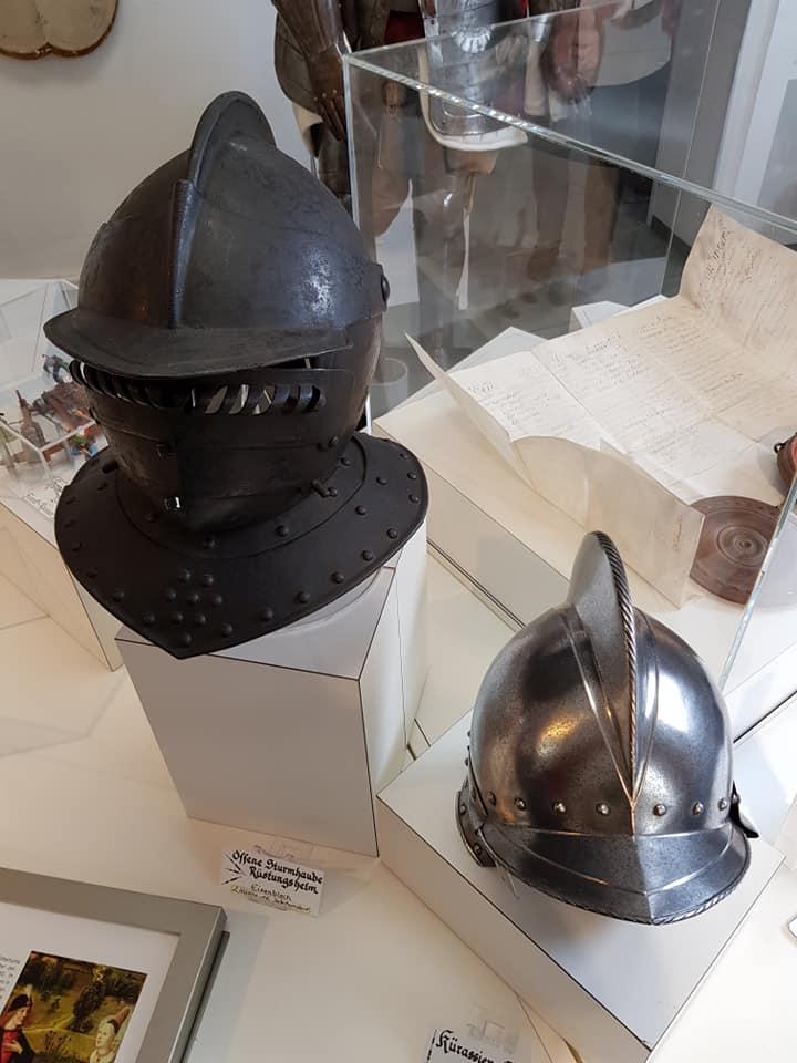 Helme aus dem Museum Kempen