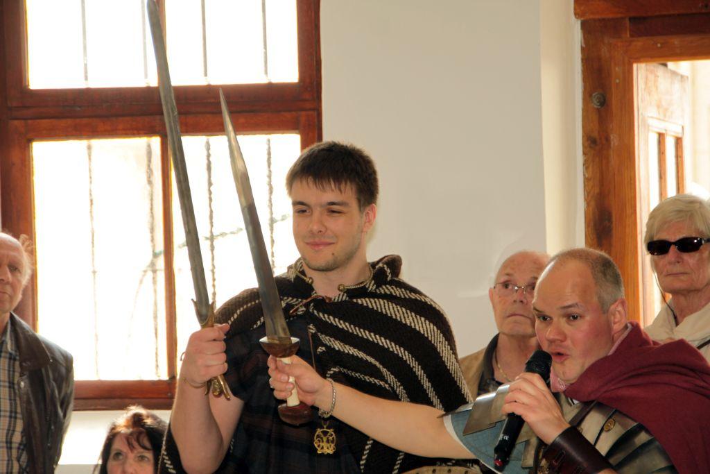 Der Unterschied zwischen dem keltischen und dem römischen Schwert