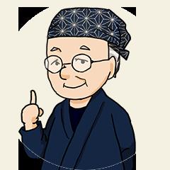 アドバイザー岡本先生のイラスト