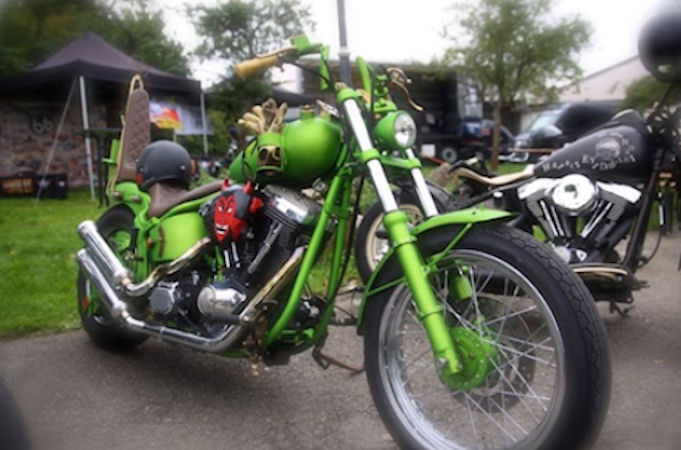 Green Devil Bike