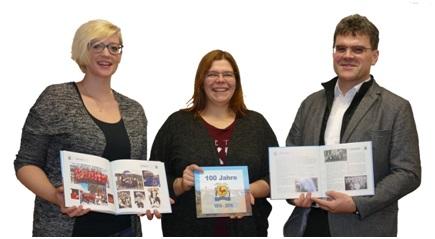 Die Autoren v.l.: Eva Baumann, Jennifer Lüddemann, Roland Ziegler