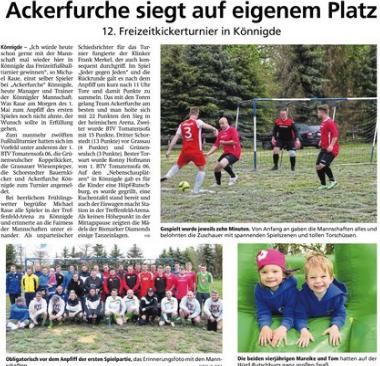 Altmark-Zeitung vom 09.05.2019, von Maik Bock