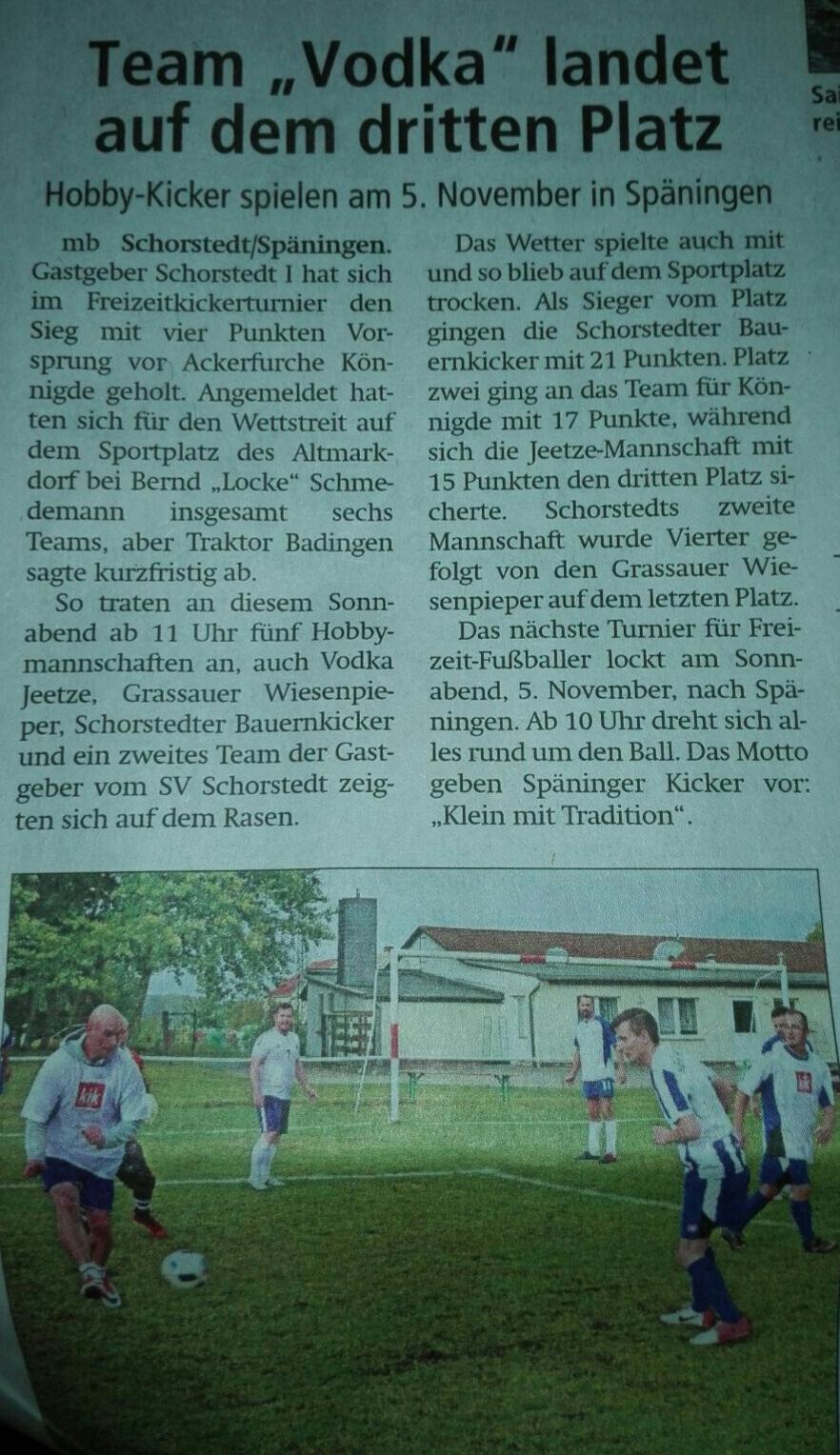 Altmark-Zeitung vom 27.10.2016 von Maik Bock