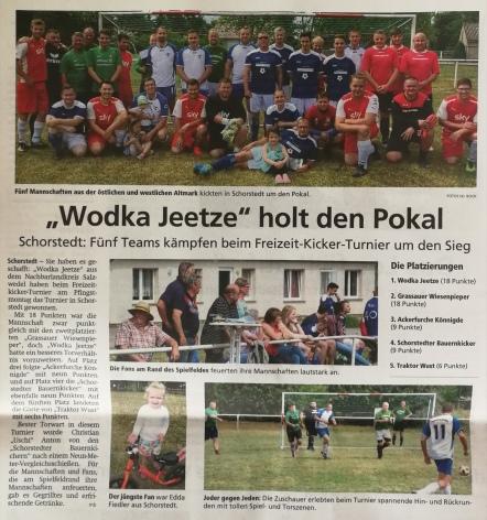 Altmark-Zeitung vom 13.06.2019, von Maik Bock