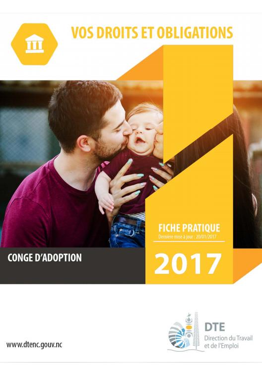 Réseau Périnatal de Nouvelle-Calédonie - Congé d'adoption CAFAT