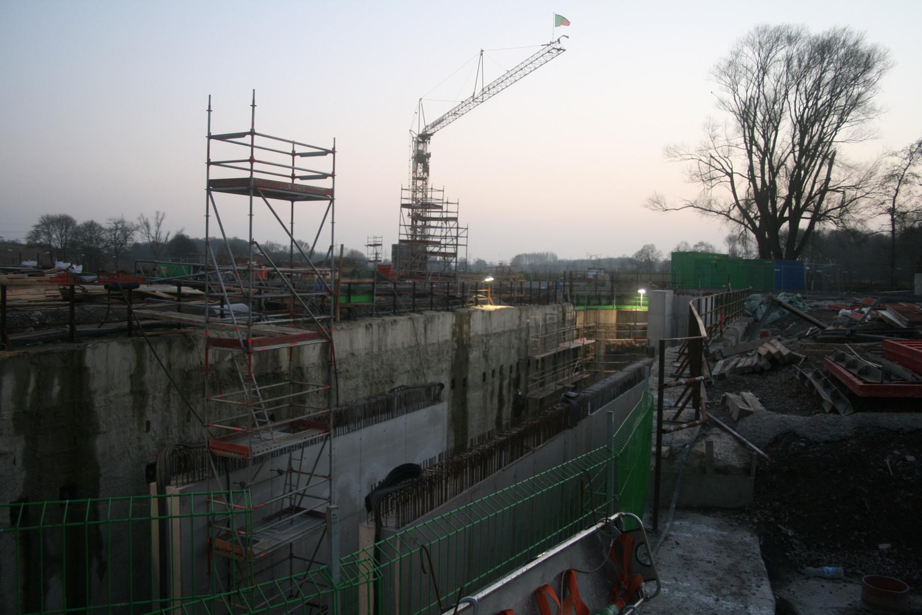 Baustelle Hennrichenburg