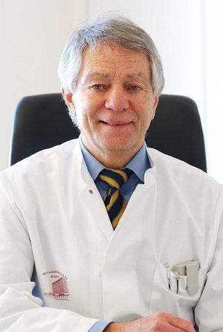 Professor Sturm ( emer. ) erläutert  den Nutzen der TiefenHirnstimulation bei Zwangsstörungen und Depressionen Im Interview