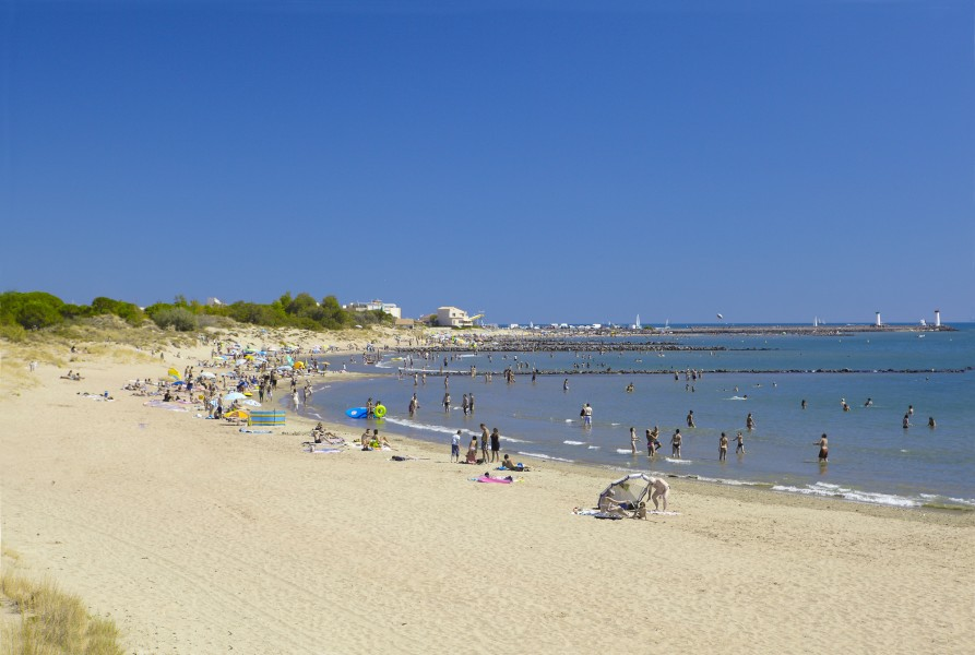 Plage du Mail de Rochelongue