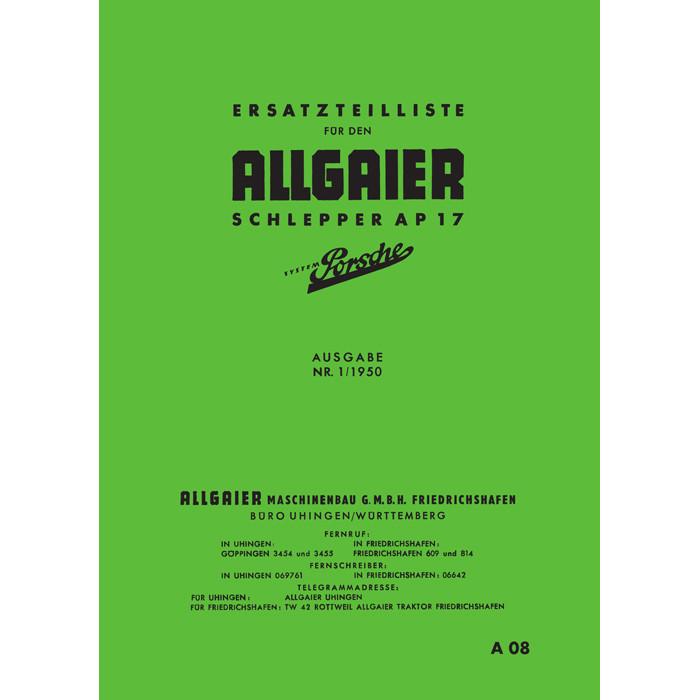 Allgaier Traktor - Porsche Diesel - Dieselluft`s Webseite!