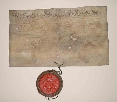 Kaiser Karl VI. bestätigt die Privilegien des Landes Hadeln, 1712