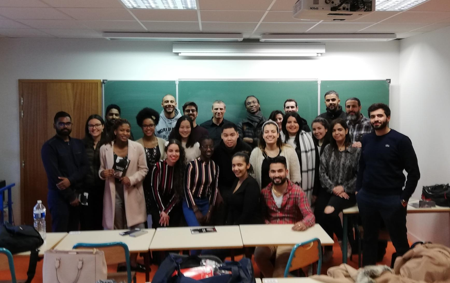 Formation communication de crise pour les Masters MQSE Université paris 13