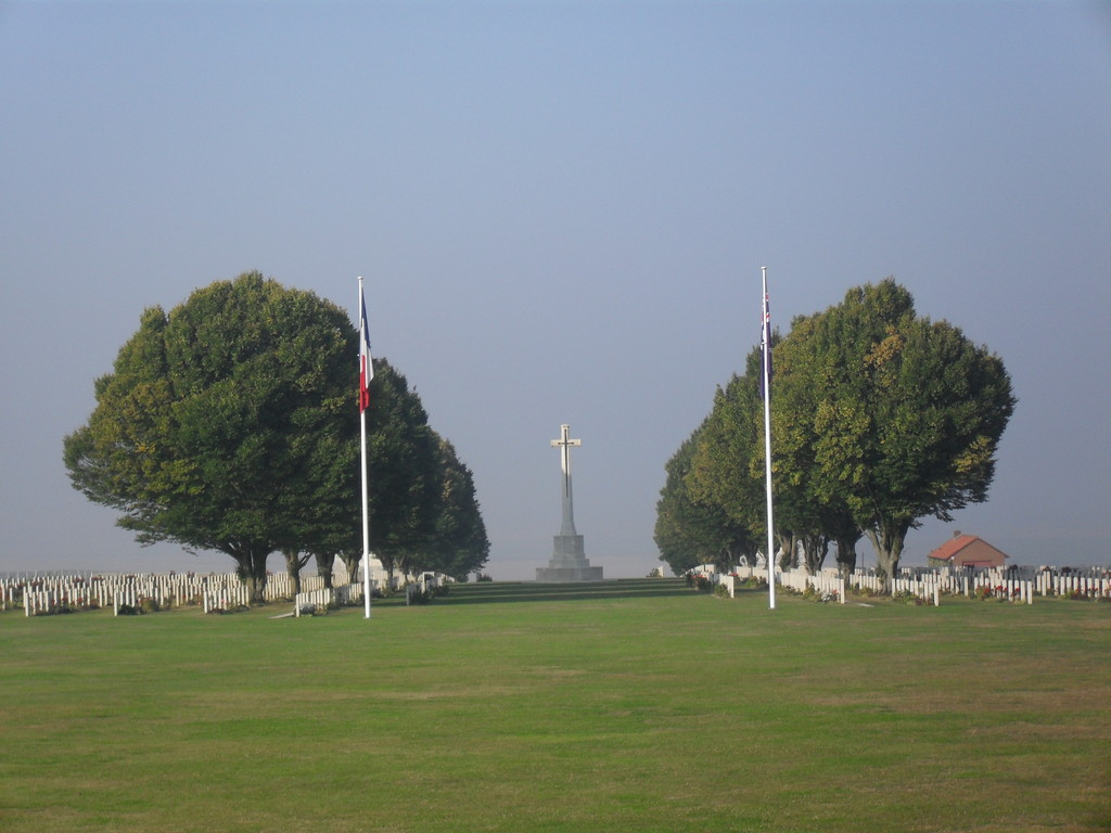 Villers bretonneux  Australian Memorial