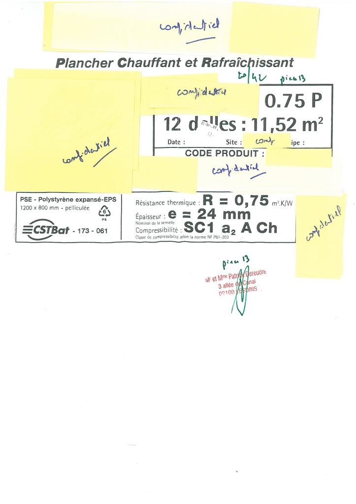 Pièce N° 13 page 20/42 Constat d'huissier du 8 & 9 Septembre 2008  voir site www.maisonnonconforme.fr