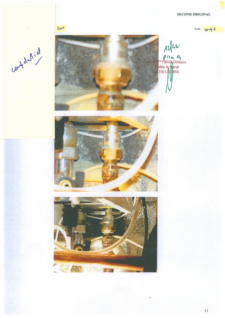 Pièce 14 Page 12/42 Constat d'huissier du 06 & 08 Avril 2009  voir site www.maisonnonconforme.fr