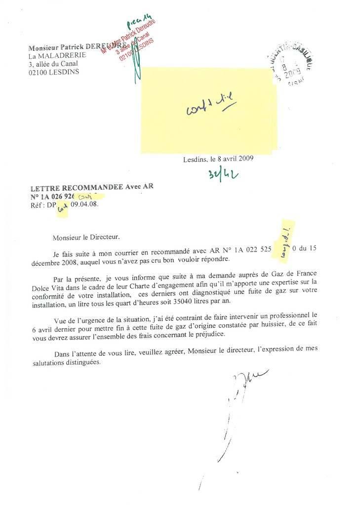 Pièce 14 Page 32/42 Constat d'huissier du 06 & 08 Avril 2009  voir site www.maisonnonconforme.fr