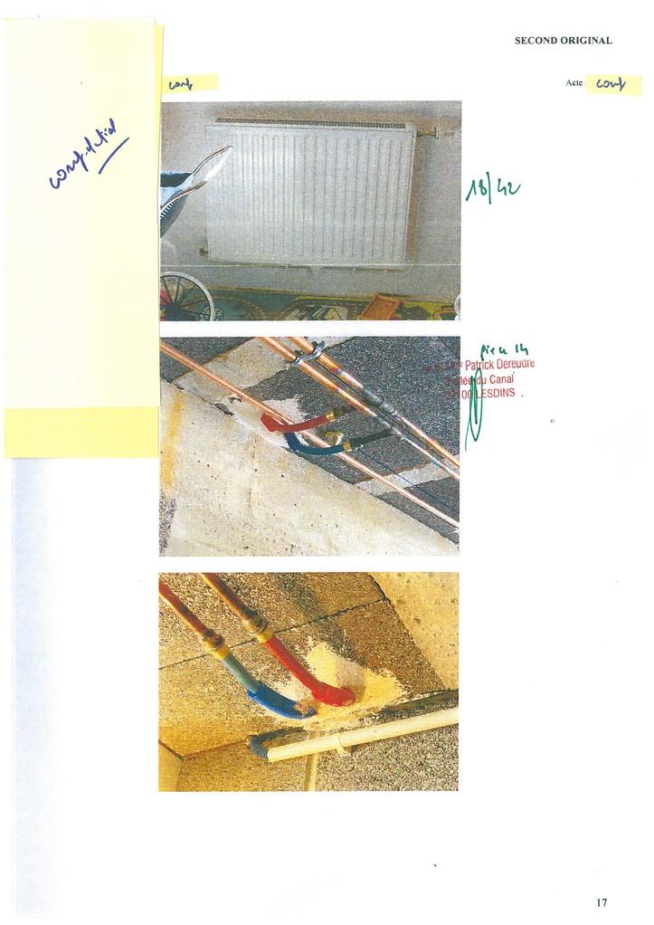 Pièce 14 Page 18/42 Constat d'huissier du 06 & 08 Avril 2009  voir site www.maisonnonconforme.fr