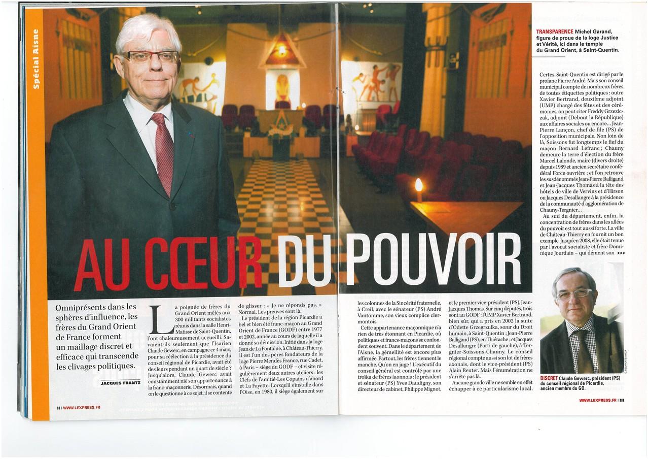 L'EXPRESS N°3067 du 15 au 21 avril 2010 (Page II & III) site www.maisonnonconforme.fr