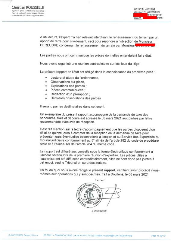 #StopCorruptionStop RAPPORT DEFINITIF EXPERT JUDICIAIRE Christian ROUSSELLE AFFAIRE MES CHERS VOISINS www.jenesuispasunchien.fr www.jesuisvictime.fr www.jesuispatrick.fr NE RENONCEZ JAMAIS LE PAIN & LA LIBERTE POUSSENT SUR LA MÊME TIGE