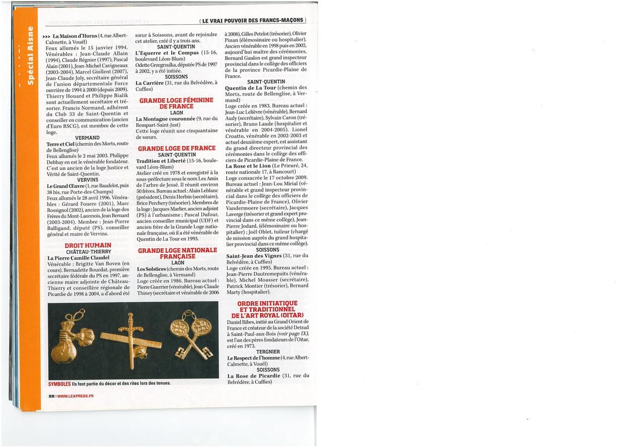 L'EXPRESS N°3067 Semaine du 15 au 21 avril 2010  (Page XII) site www.maisonnonconforme.fr