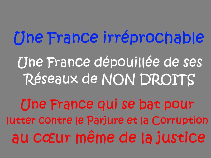 Parjure & Corruption à très Grande échelle au cœur même de la justice... Site de Patrick DEREUDRE www.jesuispatrick.fr