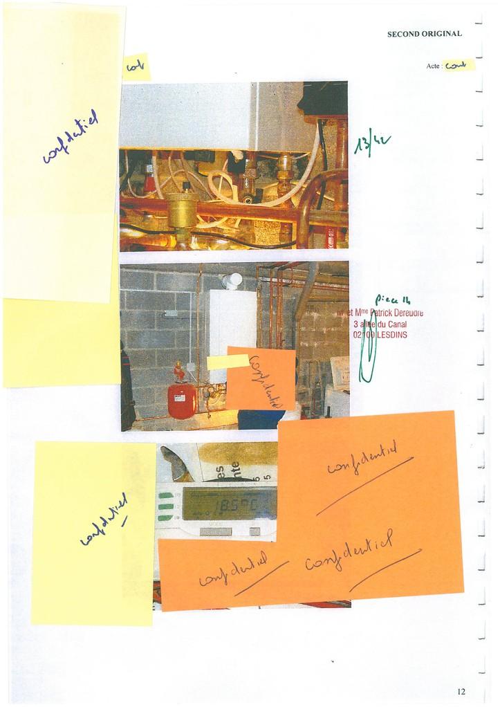 Pièce 14 Page 13/42 Constat d'huissier du 06 & 08 Avril 2009  voir site www.maisonnonconforme.fr