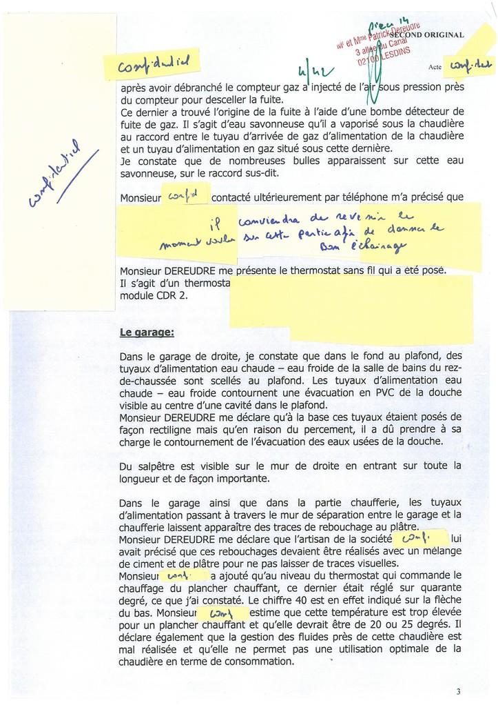 Pièce 14 Page 4/42 Constat d'huissier du 06 & 08 Avril 2009  voir site www.maisonnonconforme.fr