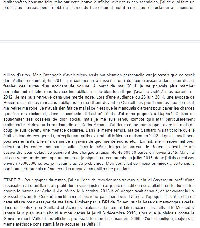 Maitre Wilfried PARIS, avocat empêché d'exercer Facebook WIL PIRS Maître Wildfried PARIS AVOCAT DISSISENT Menacé de mort en FRANCE www.jesuispatrick.fr ALERTE ROUGE www.alerterouge-france.fr