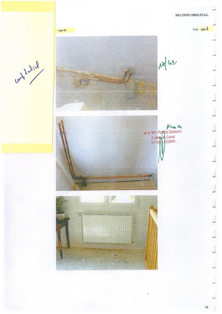 Pièce 14 Page 17/42 Constat d'huissier du 06 & 08 Avril 2009  voir site www.maisonnonconforme.fr