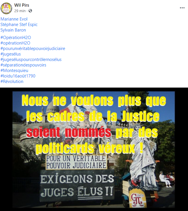 Facebook WIL PIRS Maître Wildfried PARIS AVOCAT DISSISENT Menacé de mort en FRANCE www.jesuispatrick.fr ALERTE ROUGE www.alerterouge-france.fr SITE de Patrick DEREUDRE
