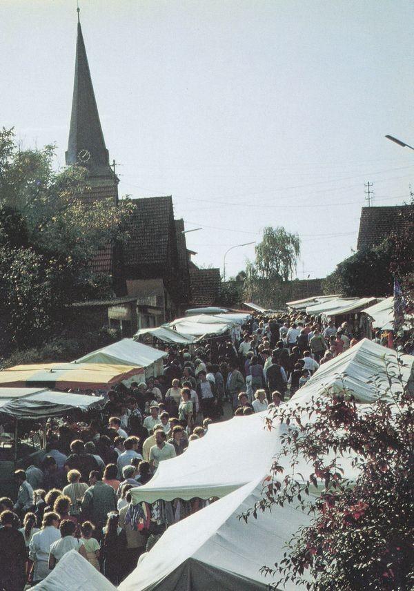 1967 Am Kirchgraben (heute Marktstraße)