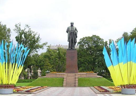 Пам'ятник Т.Г.Шевченку у Києві