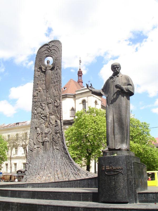 Пам'ятник Т.Г.Шевченку у Львові