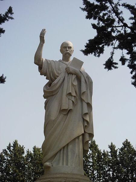 Пам'ятник Т.Г.Шевченку у Римі